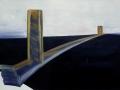the bridge (2012) - oil on linen - 86/141cm